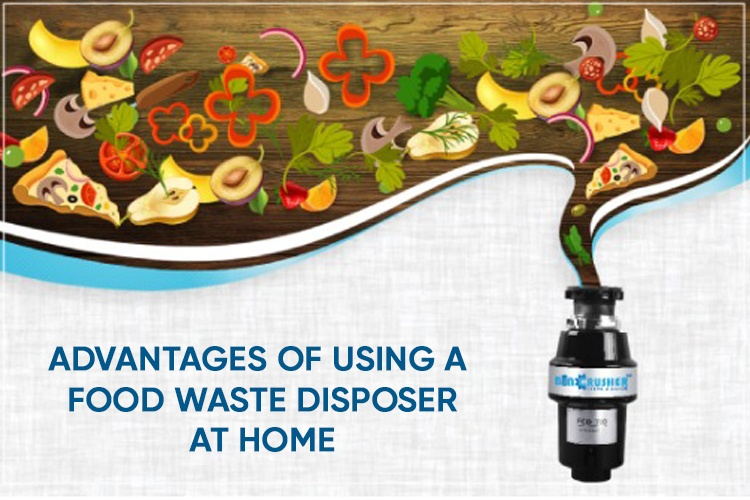What is Food Waste Disposer Machine | Advantages of Using a Food Wet Waste Disposer at Home