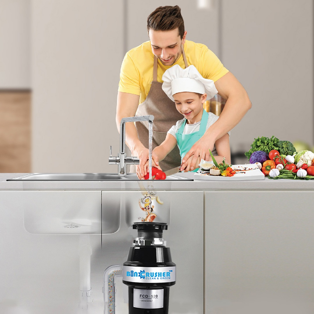Food waste disposers in india | kitchen waste disposal machine | Garbage disposers