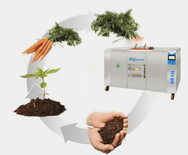 Food Waste Composting Machine at Best Price in India